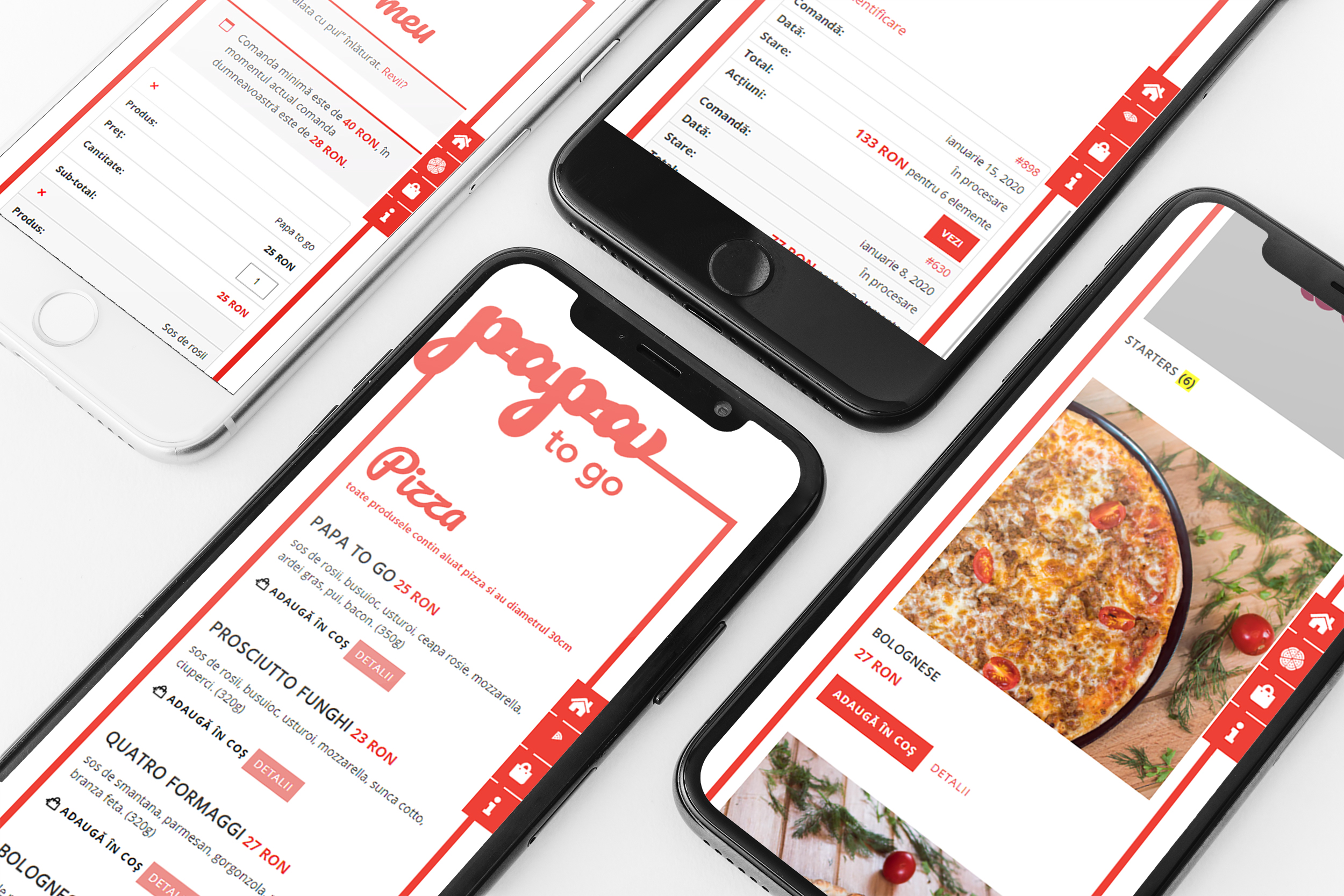 PapaToGo | Food Delivery Website